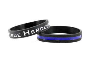 True Heroes Silicone Wristband