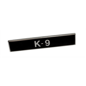K-9 Citation Bar Lapel Pin