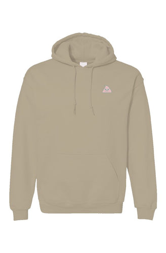 Embroidered OG logo hoodie in