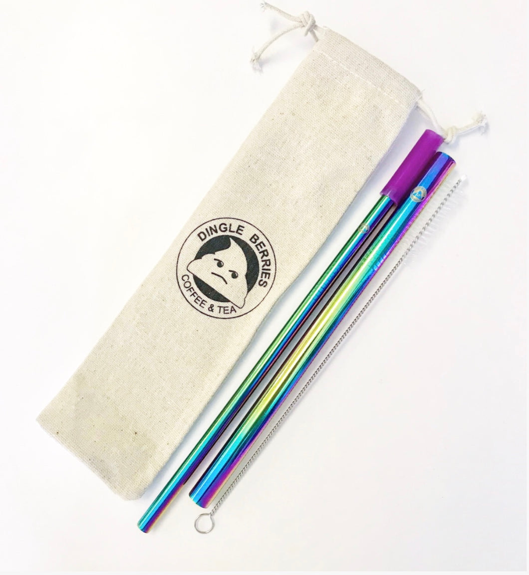 Dingle Berries Stainless Steel Straws