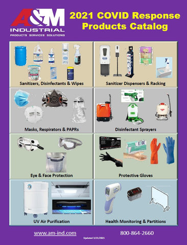 COVID Response Products, N95 Masks, Nitrile Gloves, UV Sanitizing, Disinfectant