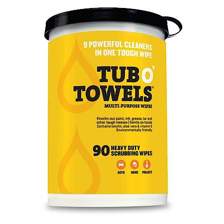 Tub-O-Towels, 10