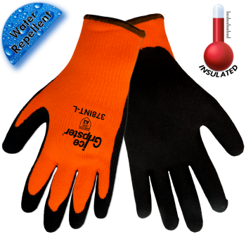 Ice Gripster® Hi-Viz Orange Water Repelent Glove (378)