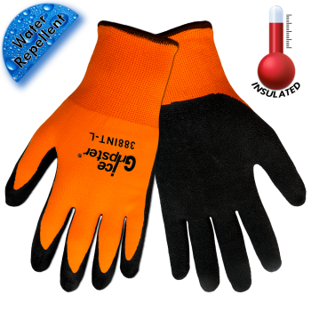 Ice Gripster® Hi-Viz Orange Cold Weather Glove (388)