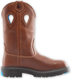 "Steel Blue BLUE HEELER, 10"" Wellington Full Grain Leather Work Boot with Steel Toe and Non-Metalic Shank (813945)"