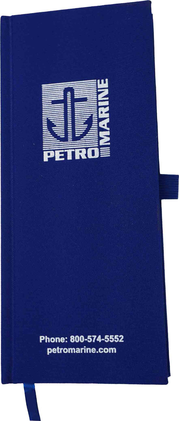 Petrolog Petrochemical Inspectors Canvas Tally Book