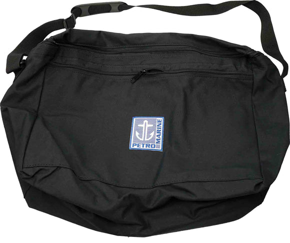 GB-2 PETROBAG Gauging Bag, 100% Cotton Canvas, Black