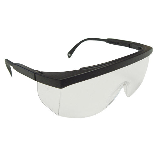 Radians GALAXY™ Safety Eyeware, Clear Lens, Black Frame