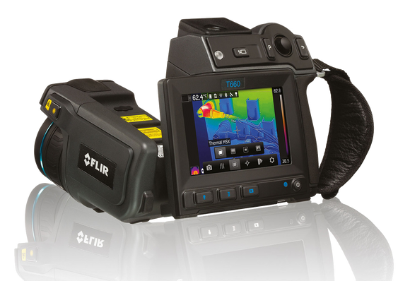 FLIR T660 THERMAL CAMERA FOR PREDICTIVE MAINTENANCE