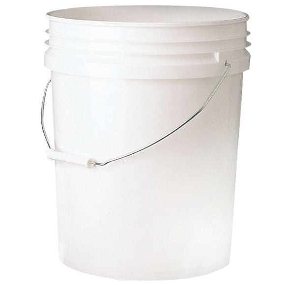 Petropail White HDPE Pail with Gamma Seal Lid