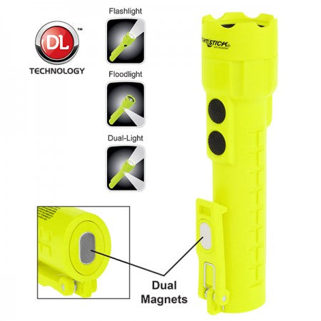 XPP-5422GM Intrinsically Safe Permissible Dual-Light™ Flashlight w/Dual Magnets