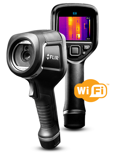 FLIR E8 WiFi INFRARED CAMERA WITH MSX® & WI-FI