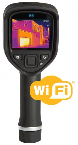 FLIR E6 WiFi INFRARED CAMERA WITH MSX® & WI-FI