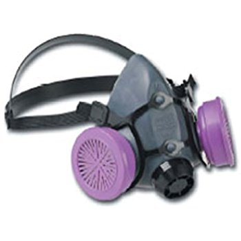 North Half Mask Elastomeric Respirators, with Cradle Suspension, Dual Cartridge (5500)