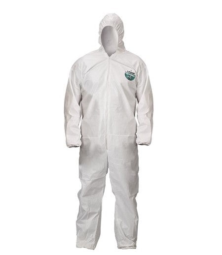 Lakeland ChemMax®2 Coverall Zipper with Storm Flap, Attached Hood, Boots, Elastic Wrists (C44414)