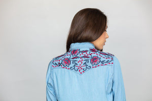 Kimes Ranch Electric Lady Button-Down Shirt