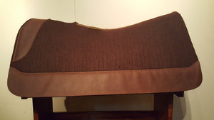 "5 Star 30"" x 28"" Barrel Pad - Chocolate / Dark Brown -  3/4"" Thick"