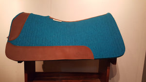 "5 Star 30"" x 28"" Barrel Pad - Turquoise / Aged Bark -  3/4"" Thick"