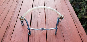 Dutton S-Combo Bit-2-Piece Small Smooth Snaffle