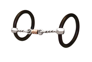 Bob Avila Three Piece Twist Ring Snaffle