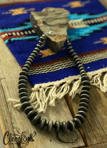 Cheeky's Rosalie Navajo Disk Peal Necklace