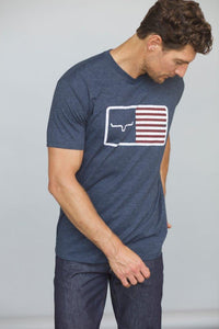 Kimes Ranch American Trucker Tee