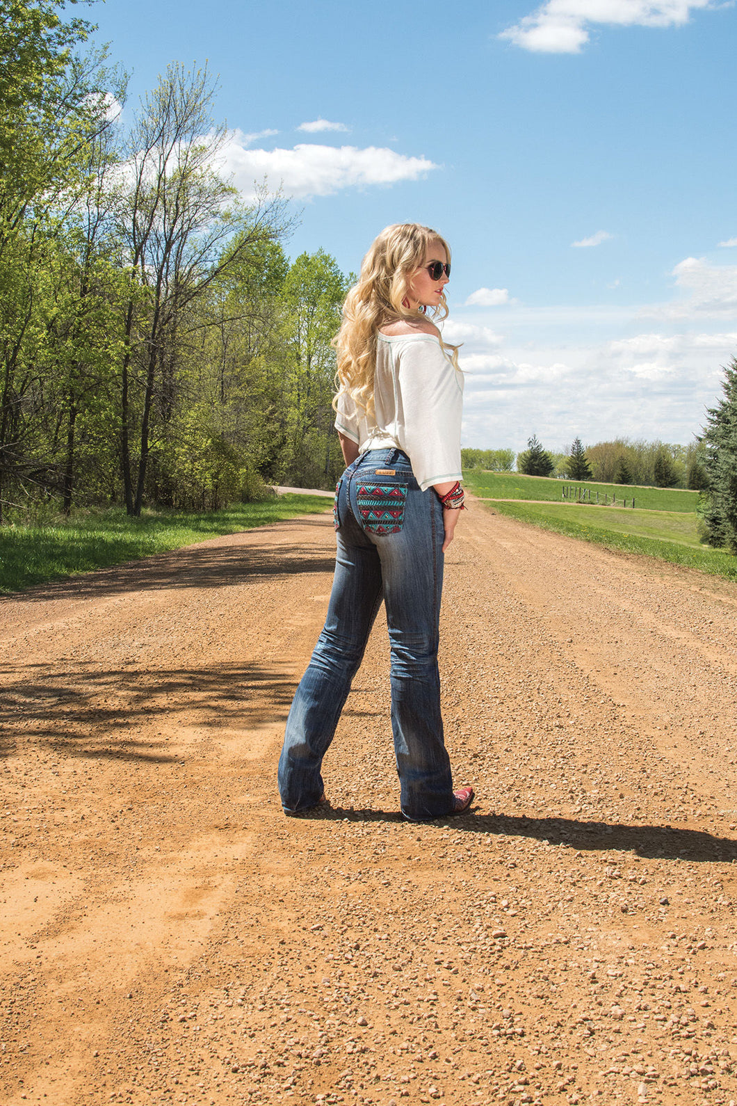 Cowgirl Tough Apache Jeans