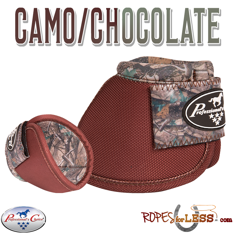 Professional's Choice Bell Boots-Camo/Chocolate