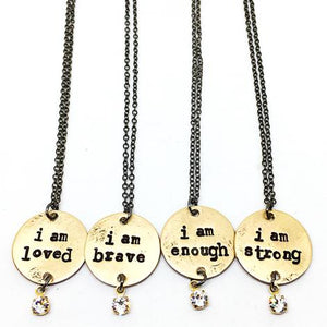 """I Am"" Statement Necklace"
