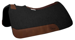 "30"" x 28"" Barrel Pad - Black / Oro Russett -  3/4"" Thick"
