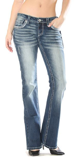 Charme Boot Cut / Open Pocket Jeans
