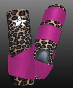 5 Star Limited Edition Cheetah Patriot Sport Support Boot
