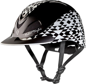 Toxel Fallon Taylor Low Profile Helmet-Black Aztec