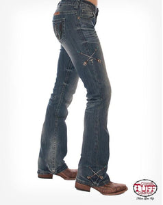 Cowgirl Tuff Free & Brave Wings Jeans