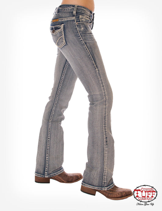 Cowgirl Tuff Tuff Cookie Cream Jeans
