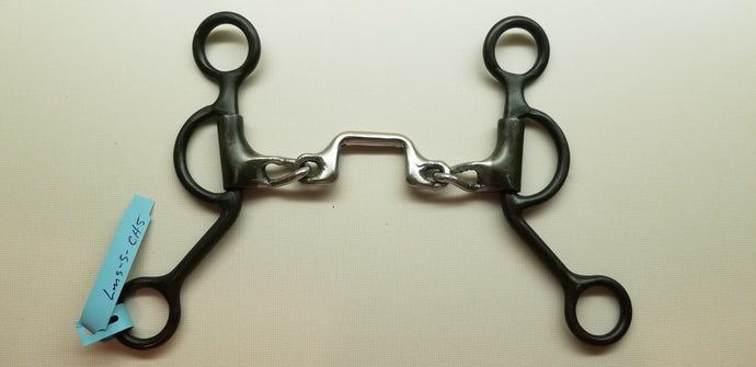 Dutton LMS Short Swept Back Cheek With Chain Mouth and Low Port