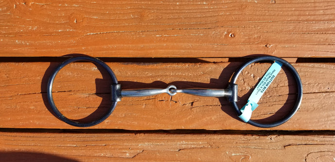 Dutton Loose-Ring Snaffle, 2-Pc. Smooth