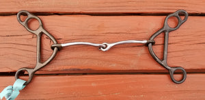 Dutton Light Gag Bit With Small Smooth Snaffle Mouth Piece
