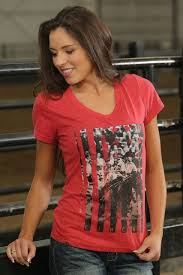Cinch Red Barrel Racer Tee