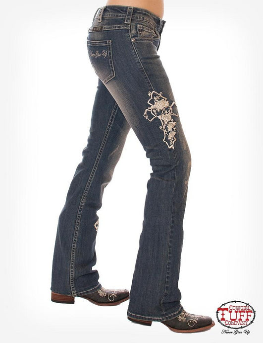 Cowgirl Tuff Roses & Faith Jeans