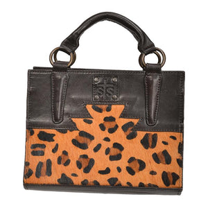 STS Ranchwear Leopard Mini Satchel