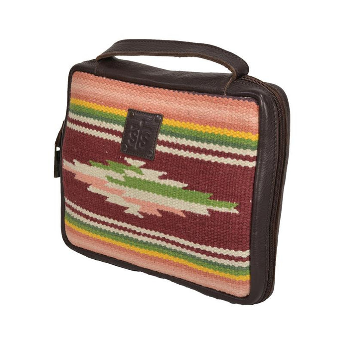 STS Ranchwear Buffalo Girl Serape Bible Cover
