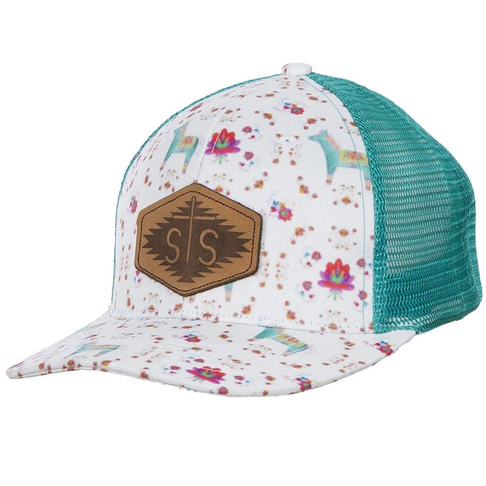 STS Watercolor Donkey Patch Hat