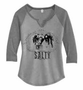 "STS Ranchwear Smoke/Coal ""Salty"" Tee"