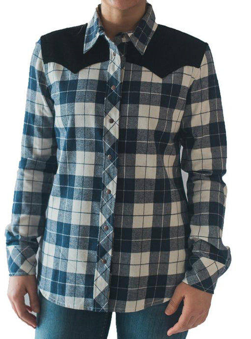 Montanaco Brushed Twill Plaid Shirt