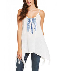 Ariat White Statement Tank