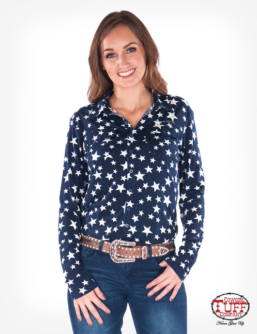 American Star Sport Jersey Pullover Button-Up