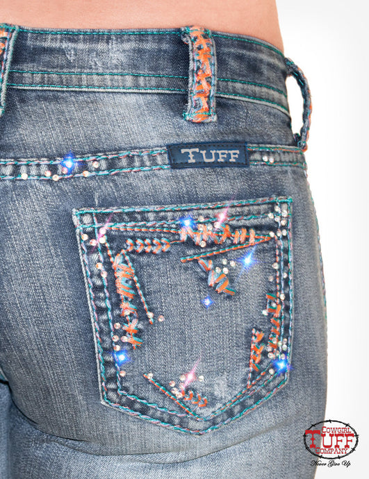 Cowgirl Tuff Beach Bling Jeans
