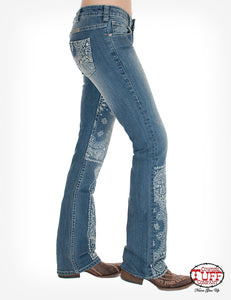 Beautiful Bandana Jeans