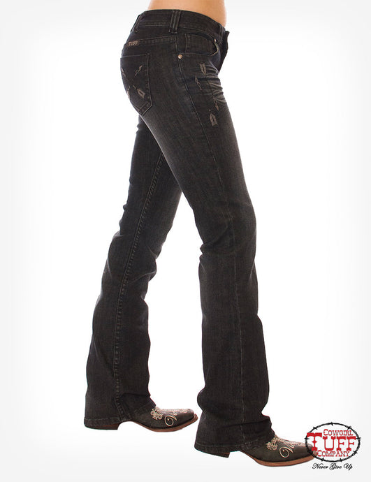 Cowgirl Tuff Black Beauty Jeans
